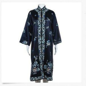 Ralph Lauren Black Label Kimono Silk Kaftan Dress